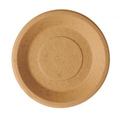 50 Teller, Agrarreste pure rund Ø 25,5 cm
