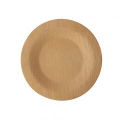 10 Teller, Bambus pure rund Ø 18 cm · 1,5 cm