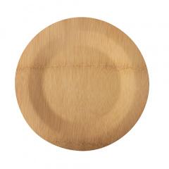 10 Teller, Bambus pure rund Ø 23 cm · 1,5 cm