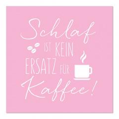 20 Servietten, 3-lagig 1/4-Falz 33 cm x 33 cm Kaffee-Ersatz